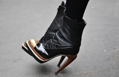 Proenza Schouler Curved Heels.