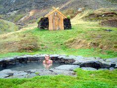 Hot tubs in Iceland - Guðrúnarlaug.