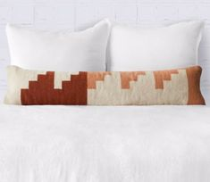 The Citizenry Villa Lumbar Pillow By The Citizenry Lumbar Pillow, Bed Pillows, Pillow Cases, Higher Design, Basket Decoration, Prefab Homes, Architectural Elements, Wood Colors, Home Collections