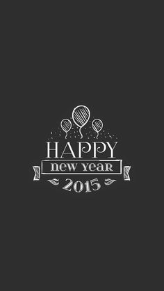 happy new year 2015 retro insignia iphone 6 plus wallpaper