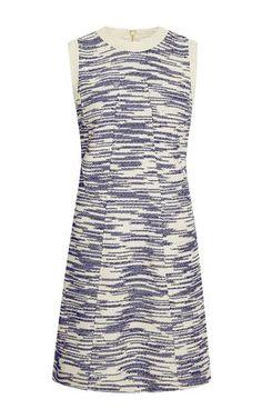 Boucle-front dress mini dress by DEREK LAM Available Now on Moda Operandi