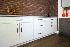 Nessa Melamine Kicthen Cabinets in-Stock