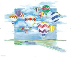 Hot Air Balloon Painting Oil Please upgrade to full version Oil Painting For Sale, Online Painting, Paintings For Sale, Original Paintings, Painting Classes, Watercolor Landscape, Watercolor Print, Balloon Painting, Painting Canvas