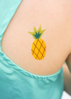 Pineapple Temporary Tattoo Printable | Francois et Moi