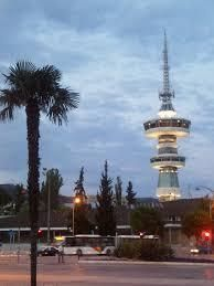 OTE (Telecommunications) tower in Thessaloniki, Macedonia Places Around The World, Around The Worlds, Places To Travel, Places To Visit, Greek Beauty, Greek Isles, Crete Greece, Macedonia, Ancient Greece