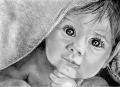 How to Draw a Realistic Baby, Step by Step, Realistic, Drawing Technique, FREE Online Drawing Tutorial, Added by catlucker, August 25, 2011, 8:23:04 am