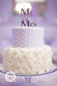 Simple, Elegant, Chic Wedding Cakes ❤ See more: www.weddingforwar… Simple, Elegant, Chic Wedding Cakes ❤ See more: www. Wedding Shower Cakes, Small Wedding Cakes, Wedding Cakes With Cupcakes, White Wedding Cakes, Elegant Wedding Cakes, Wedding Cake Designs, Trendy Wedding, Rustic Wedding, Chic Wedding