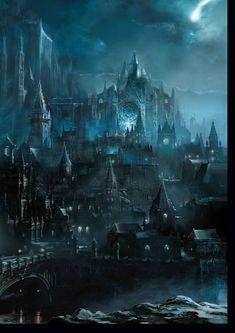 Dark Souls 3 Concept Art - Irithyll Concept Art