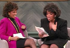 Oprah and Gayle read letters from their high school boyfriends.