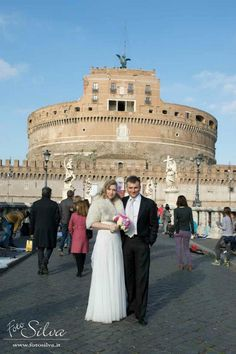 Castel Sant'Angelo. Marco and Elena wedding by Weddings in Rome