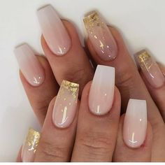 Aumente seu faturamento com as técnicas de unhas de fibra de vidro. Coffin Nails Ombre, Acrylic Nails Coffin Short, Simple Acrylic Nails, Aycrlic Nails, Fall Acrylic Nails, Dope Nails, Simple Nails, Classy Gel Nails, Ombre Nail
