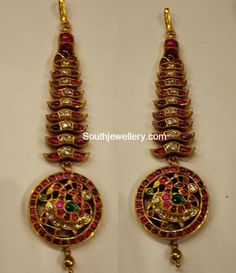Indian Jewellery Designs - Page 60 of 1784 - Latest Indian Jewellery Designs 2020 ~ 22 Carat Gold Jewellery one gram gold Antic Jewellery, Tikka Jewelry, Indian Jewellery Design, Ruby Jewelry, Temple Jewellery, Gold Jewelry, Jewelry Design, Nail Jewelry, Bead Jewellery