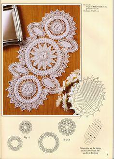 Crochet: Oval Doily Crochet