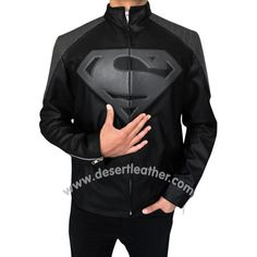 Black and Grey Superman Smallville Jacket  http://desertleather.com/Black-and-Grey-Superman-Smallville-Jacket  Now we have Created an awesome Superman Smallville Jacket only at DesertLeather, Buy This Black & Grey Superman Jacket Immediately and enjoy our Free Shipping Offer.