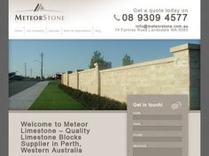 Meteor Limestone - A premier supplier of natural and reconstituted limestone.
