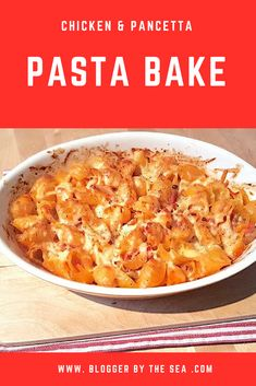 #foodblog #chicken #pancetta #pasta #bake #recipe #foodblogger #bacon #pastas #baked #recipes #foodbloggers #easy #yummy #simple #delicious #main #meal #dinner #mains #meals
