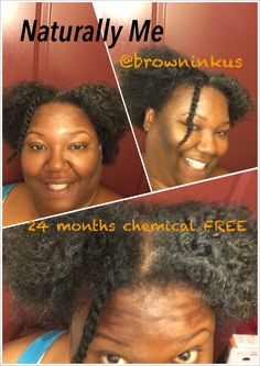 Naturally me inside and out.  24 months chemical free this month. No more relaxers for me. I let it grow out never did the big chop. Working on keeping it moisturized and healthy. It's never been nappy. I have been using #EVOO,  #RawShea #RawVirginCoconutOil and other regimens to find my texture and sealants. I usually say I am #4CHair   Skinny fiber, juicing and so many other natural products in my cabinet.   Headed on my 45th birthday #naturalhair #chemfree