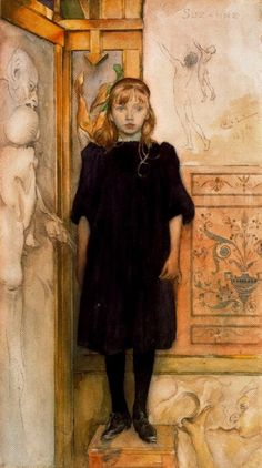 "Carl Larsson  ""Suzanne"""