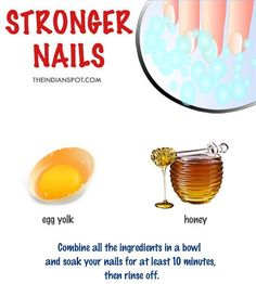 DIY Nail Strengthener for Strong, Healthy & Shiny Nails Your nails are often neglected when it comes to physical health. Indeed, they're tough, so no wonder you torture them relentlessly with nail polish and nail . Diy Nails Soak, Nail Soak, Soft Nails, Shiny Nails, Whiter Nails, Natural Beauty Tips, Natural Nails, Uñas Diy, Ongles Forts