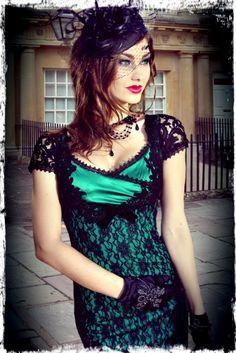 Envy Motif Wiggle Dress