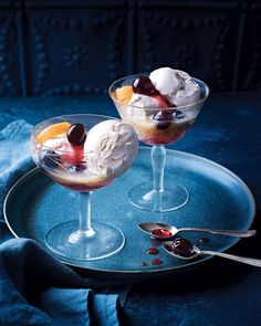 Creamy, decadent and a little bit boozy – these adults only ice cream coupes were designed for Friday nights in, in front of the telly.