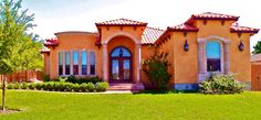 New construction. Stunning Mediterranean Homes. These are the trademarks of Spanish Homes, Inc.