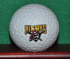 Pittsburgh Pirates MLB Baseball Logo Golf Ball