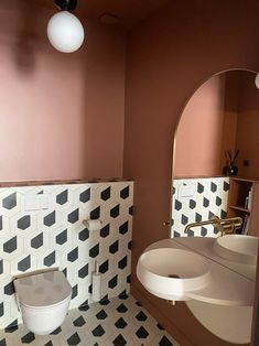 Saussaye   Caroline Andréoni Bathroom Inspo, Bathroom Inspiration, Bathroom Interior, Interior Work, Interior Design, Beds For Small Rooms, Small Toilet, Home Decor Pictures, Amazing Bathrooms