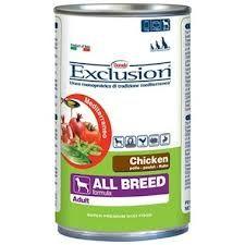 DISPONIBILI : pollo, vitello, agnello, pesce . Cibo umido bilanciato per cani adulti di tutte le razze, con un'unica fonte di proteine animali, senza frumento né glutine. Con il 90% di carne, con ingredienti funzionali della dieta mediterranea.
