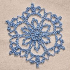 these snowflakes would make a pretty lacy garland for a Christmas mantel.