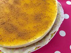 Cheesecake com creme de ovos (Bimby/Thermomix)