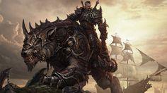 Fantasy Warrior Horseman