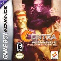 Emularoms: Contra Advance: The Alien Wars EX ( BR ) [ GBA ]