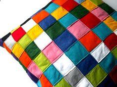 Color Block pillow by LeFreakMignon #DaWanda.com
