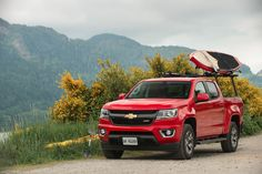 A truck that makes already beautiful Vancouver even better? You know you want a truck, and it's a #ChevyColorado.