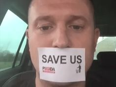 Tommy Robinson pray for him!