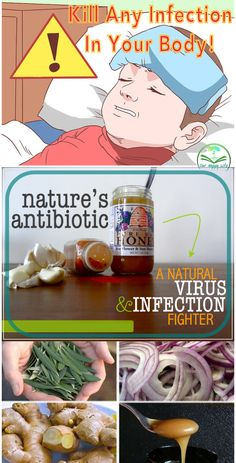 Nature's antibiotic: A natural virus & infection fighter #antibiotics #infection #protection #homeremedies #remedies