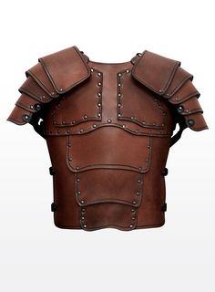 Mercenary Leather Armor brown.