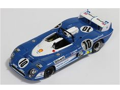 Matra MS670B (Jean Pierre Beltoise - Le Mans 1973) in Blue (1:43 scale by IXO LMC115)
