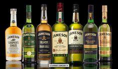 Jameson Irish Whiskey Black Whiskey, Jameson Irish Whiskey, Cigars And Whiskey, Whiskey Drinks, Alcoholic Drinks, Beverages, Cocktails, Drinking Book, Modern Home Bar Designs
