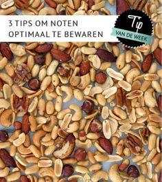 Empty the Fridge - 3 tips om noten optimaal te bewaren