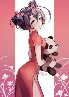 Tagged with anime, fanart, hot girls, anime girl; Anime Fanart Collection HD Vol. Anime Chibi, Anime Oc, Manga Kawaii, Art Manga, Chica Anime Manga, Kawaii Anime Girl, Panda Anime Girl, Marinette Anime, Anime Girl Cute