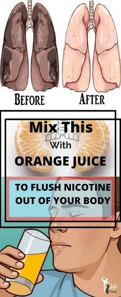 Mix This With Fresh Orange Juice Every Morning To Flush Nicotine Out Of Your Body (VIDEO)