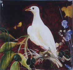 Brett Whiteley - Digital print, Title: The White Dove in Avoca Auction Australian Painting, Australian Birds, Australian Artists, Work In Australia, Bird Artwork, Sculpture Painting, White Doves, Figurative Art, Digital Prints