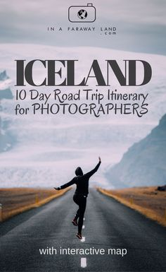 This 10 day road trip itinerary for Iceland is focused on visiting the best photography spots around the island. From raging waterfalls, lagoons ending with dramatic coastal cliffs there is something to be found in Iceland for every photography lover