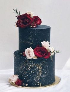 and Burgundy Winter Wedding Cake - Wedding Ideas - . - Navy and Burgundy Winter Wedding Cake – Wedding Ideas – cake -Navy and Burgundy Winter Wedding Cake - Wedding Ideas - . - Navy and Burgundy Winter Wedding Cake – Wedding Ideas – cake - Burgundy Wedding Cake, Black Wedding Cakes, Maroon Wedding, Fall Wedding, Winter Wedding Cakes, Wedding Gold, Winter Weddings, Winter Cakes, Burgundy Bridesmaid