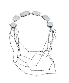 Necklace, sterling silver, 2009, Image by Hank Drew