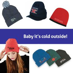 Tis the season to wrap your brand up warm with our #promotional #beanies!