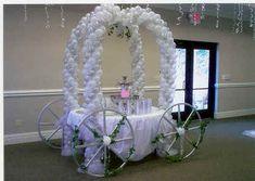 "fairytale decorations | Nancyfangles"" Carriagefor your FairytaleWedding"