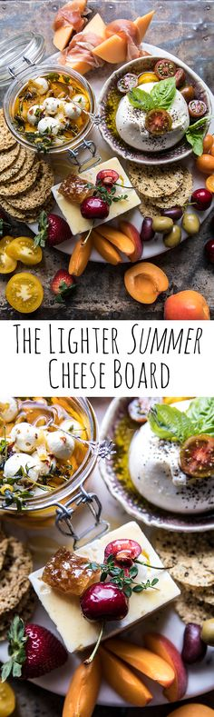 The Lighter Cheese Board Charcuterie Cheese, Cheese Platters, Party Platters, Charcuterie Board, Tapas, Antipasto, Appetizers For Party, Appetizer Recipes, Cheese Party